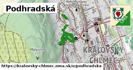 ilustrácia k Podhradská, Kráľovský Chlmec - 0,78km