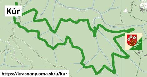 ilustrácia k Kúr, Krasňany - 8,9km
