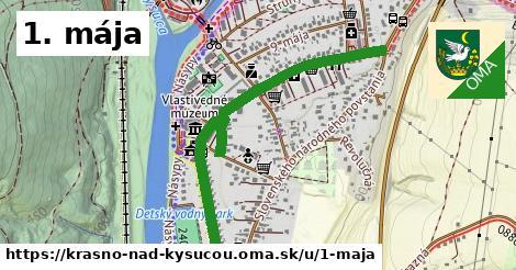 ilustrácia k 1. mája, Krásno nad Kysucou - 1,06km