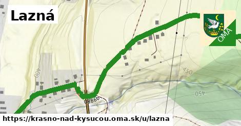 ilustračný obrázok k Lazná, Krásno nad Kysucou