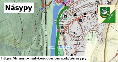 ilustrácia k Násypy, Krásno nad Kysucou - 505m