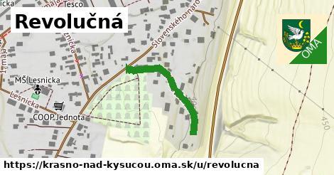 ilustrácia k Revolučná, Krásno nad Kysucou - 207m