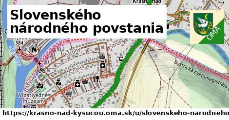 ilustračný obrázok k Slovenského národného povstania, Krásno nad Kysucou