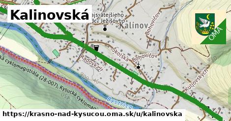 ilustrácia k Kalinovská, Krásno nad Kysucou - 2,8km