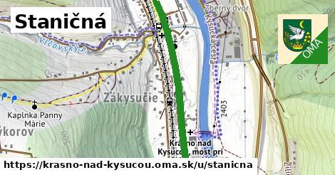 ilustrácia k Staničná, Krásno nad Kysucou - 1,89km