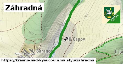 ilustrácia k Záhradná, Krásno nad Kysucou - 2,2km