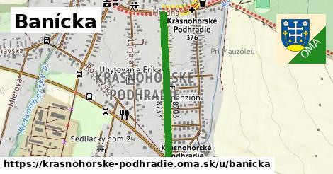 ilustrácia k Banícka, Krásnohorské Podhradie - 665m