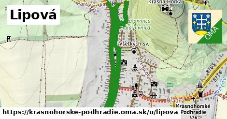 ilustrácia k Lipová, Krásnohorské Podhradie - 1,65km