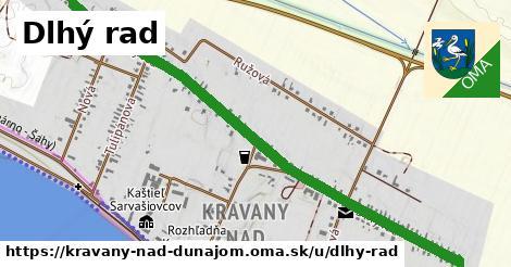 ilustrácia k Dlhy rad, Kravany nad Dunajom - 1,75km