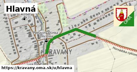 ilustrácia k Hlavná, Kravany - 343m
