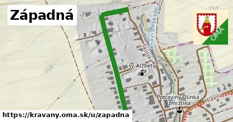 ilustrácia k Západná, Kravany - 436m
