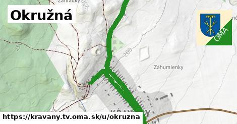 ilustrácia k Okružná, Kravany, okres TV - 1,63km