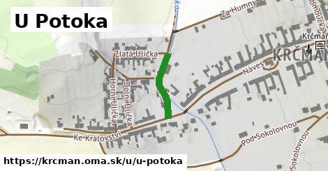 ilustrácia k U Potoka, Krčmaň - 153m