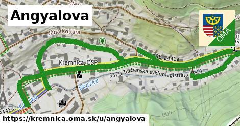 ilustrácia k Angyalova, Kremnica - 1,17km