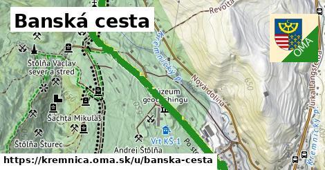 ilustrácia k Banská cesta, Kremnica - 1,96km