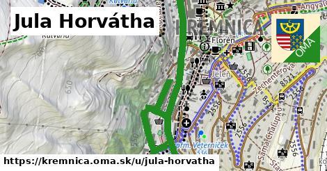 ilustrácia k Jula Horvátha, Kremnica - 2,4km
