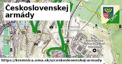 ilustrácia k Československej armády, Kremnica - 3,0km