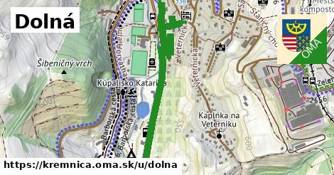 ilustrácia k Dolná, Kremnica - 2,5km