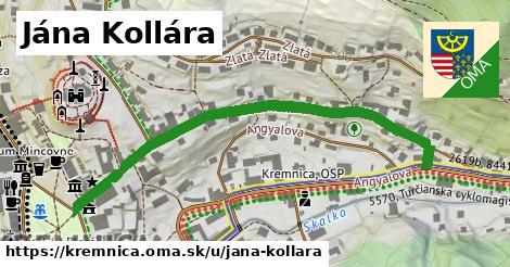 ilustrácia k Jána Kollára, Kremnica - 611m