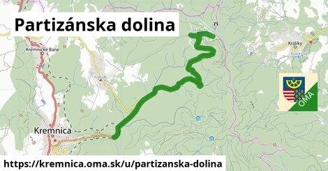 ilustrácia k Partizánska dolina, Kremnica - 8,6km