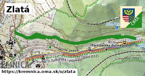 ilustrácia k Zlatá, Kremnica - 1,57km