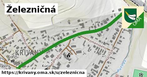 ilustrácia k Železničná, Krivany - 642m