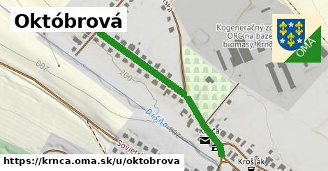 ilustrácia k Októbrová, Krnča - 409m