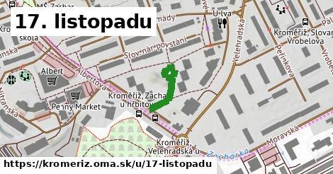 ilustrácia k 17. listopadu, Kroměříž - 168m