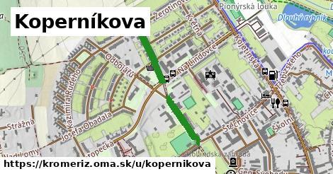 ilustrácia k Koperníkova, Kroměříž - 510m
