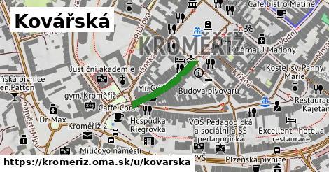 ilustrácia k Kovářská, Kroměříž - 169m