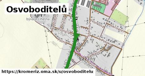 ilustrácia k Osvoboditelů, Kroměříž - 0,86km