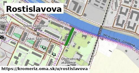 ilustrácia k Rostislavova, Kroměříž - 103m