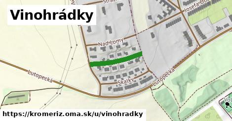 ilustrácia k Vinohrádky, Kroměříž - 168m