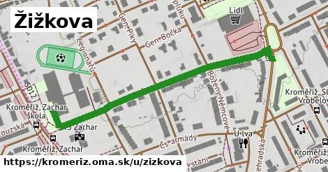 ilustrácia k Žižkova, Kroměříž - 546m