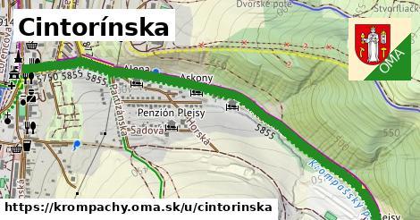 ilustrácia k Cintorínska, Krompachy - 2,00km