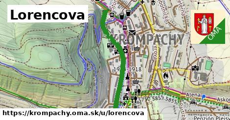 ilustrácia k Lorencova, Krompachy - 0,73km
