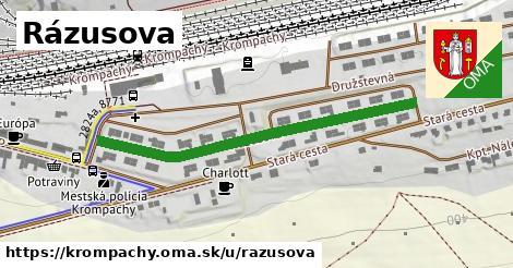 ilustrácia k Rázusova, Krompachy - 471m
