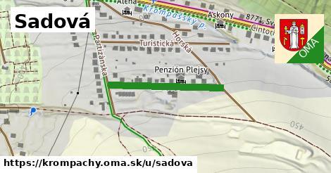 ilustrácia k Sadová, Krompachy - 257m