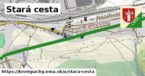 ilustrácia k Stará cesta, Krompachy - 1,93km