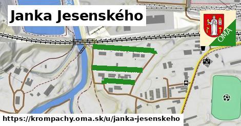 ilustrácia k Janka Jesenského, Krompachy - 452m