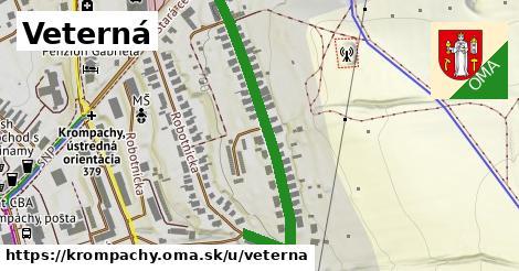 ilustrácia k Veterná, Krompachy - 468m