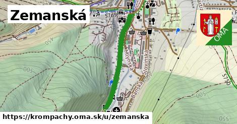ilustrácia k Zemanská, Krompachy - 618m