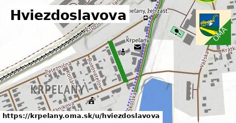 ilustrácia k Hviezdoslavova, Krpeľany - 136m