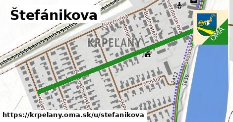 ilustrácia k Štefánikova, Krpeľany - 537m
