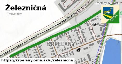 ilustrácia k Železničná, Krpeľany - 691m