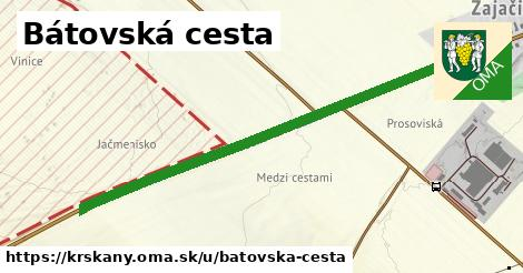 ilustrácia k Bátovská cesta, Krškany - 1,13km
