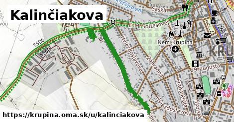 ilustrácia k Kalinčiakova, Krupina - 477m