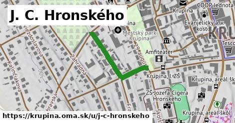 ilustrácia k J. C. Hronského, Krupina - 174m