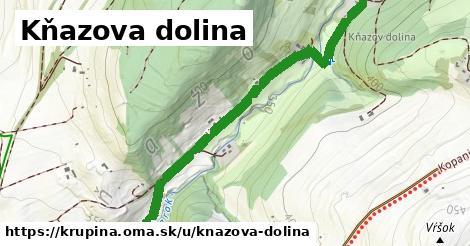 Kňazova dolina, Krupina