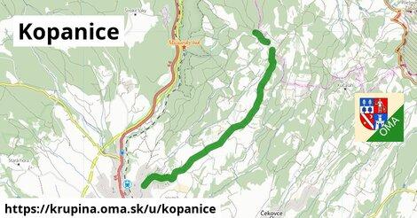 ilustrácia k Kopanice, Krupina - 6,4km